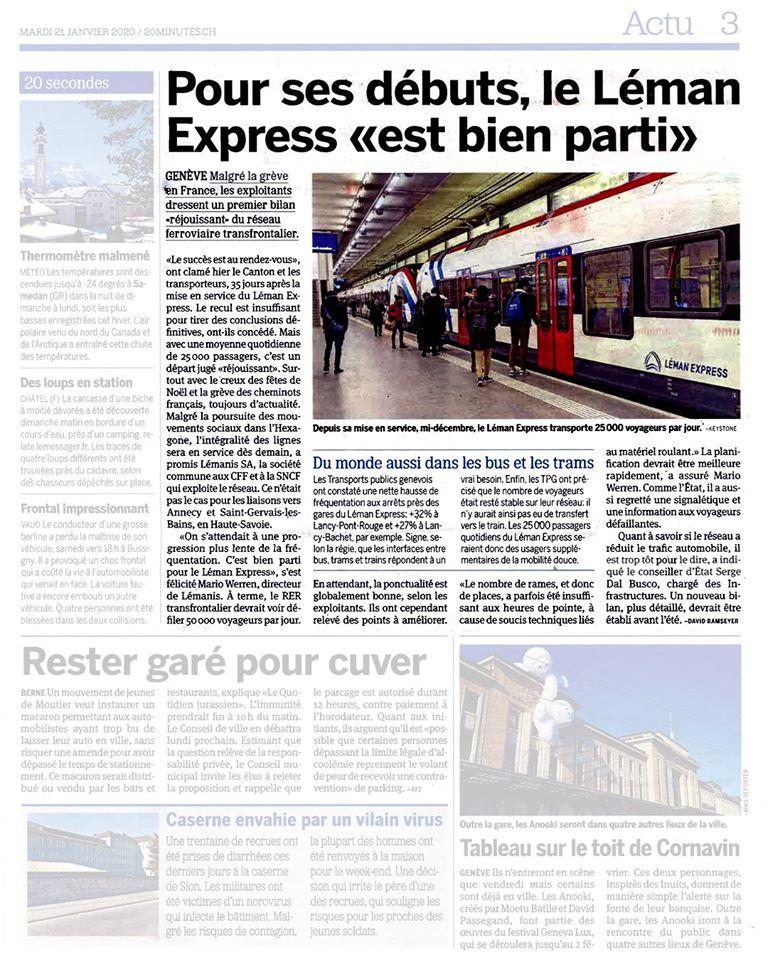 Le «Léman Express» est bien parti