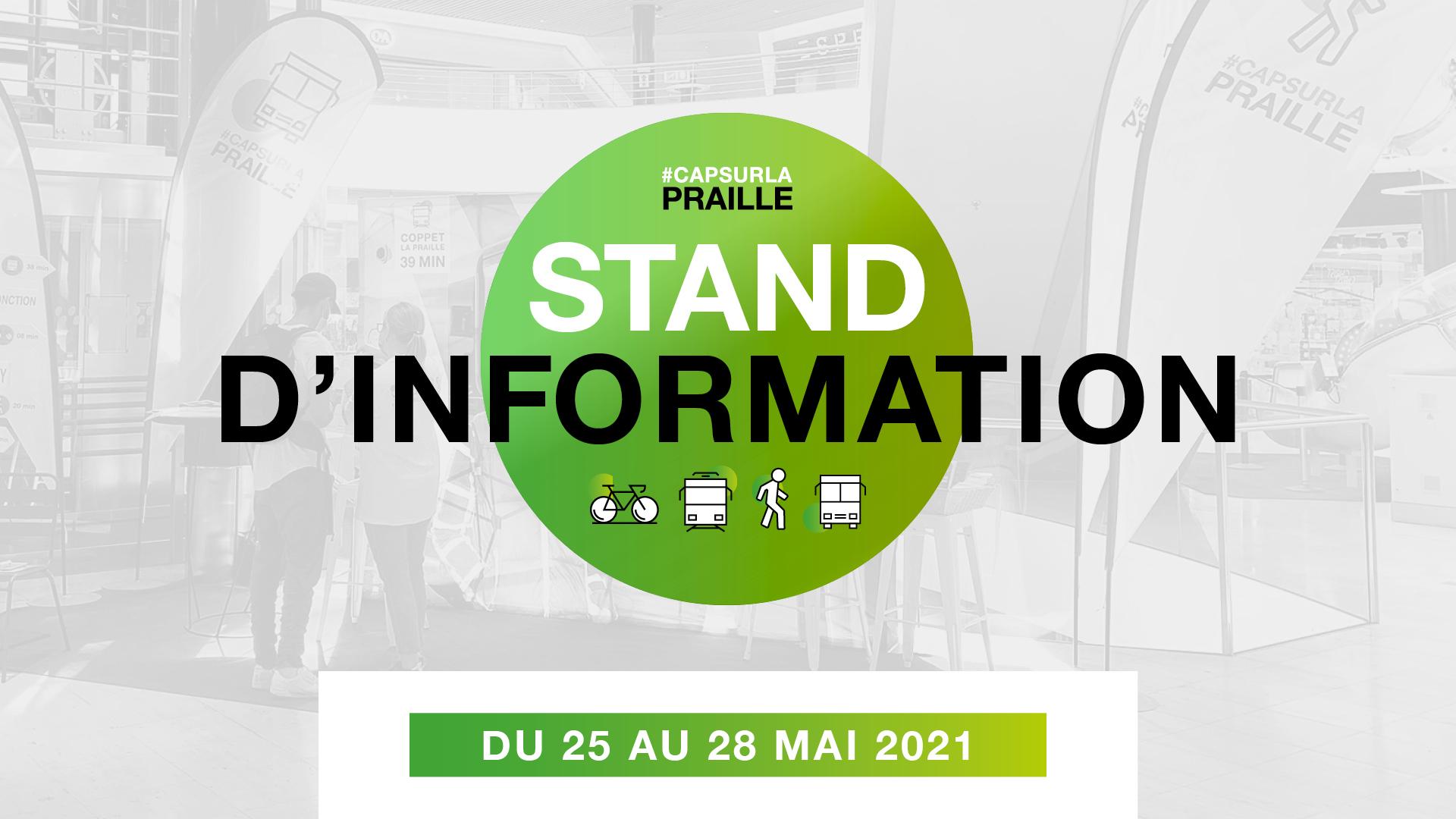Stand d'information mobilité